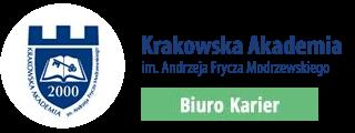Biuro Karier Krakowskiej Akademii im. A F Modrzewskiego Logo